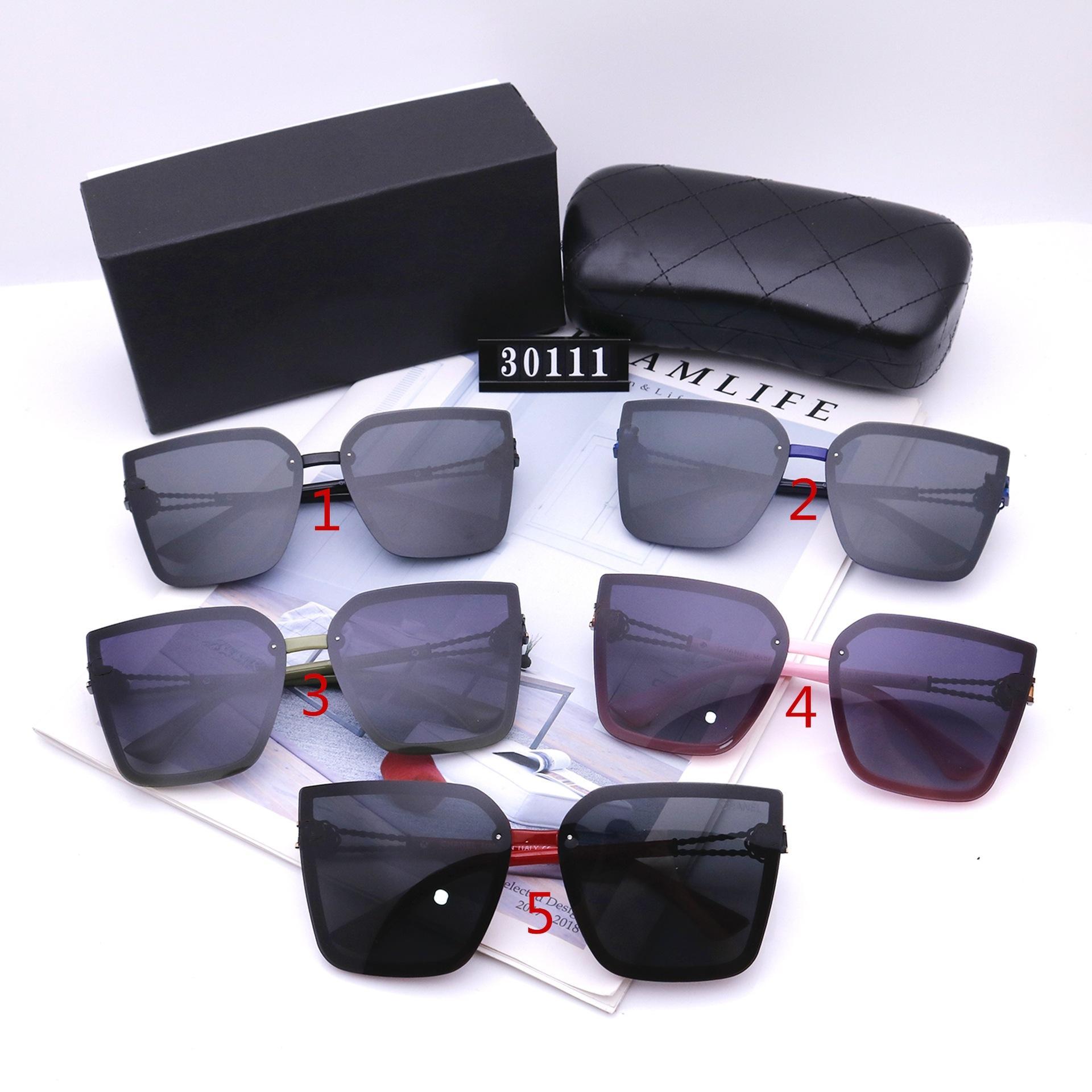 الأزياء القط العين النظارات للنساء المصممين الفاخرة جودة عالية HD الاستقطاب عدسات إطار كبير القيادة نظارات 30111