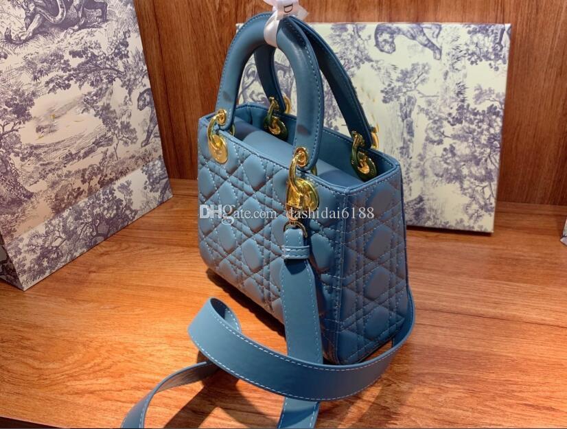 2021 Handtasche Klassische neue Tasche Umhängetaschen K05 Mini Luxury Messenger Black Damen Mode Designer Geldbörse Tragbare QVTGE