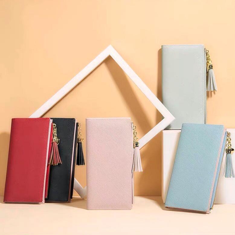 Großhandel neue klassische damen lange brieftasche für frauen multicolor münze geldbörse kartenhalter paket organizer brieftasche damen reißverschluss pock irlwe