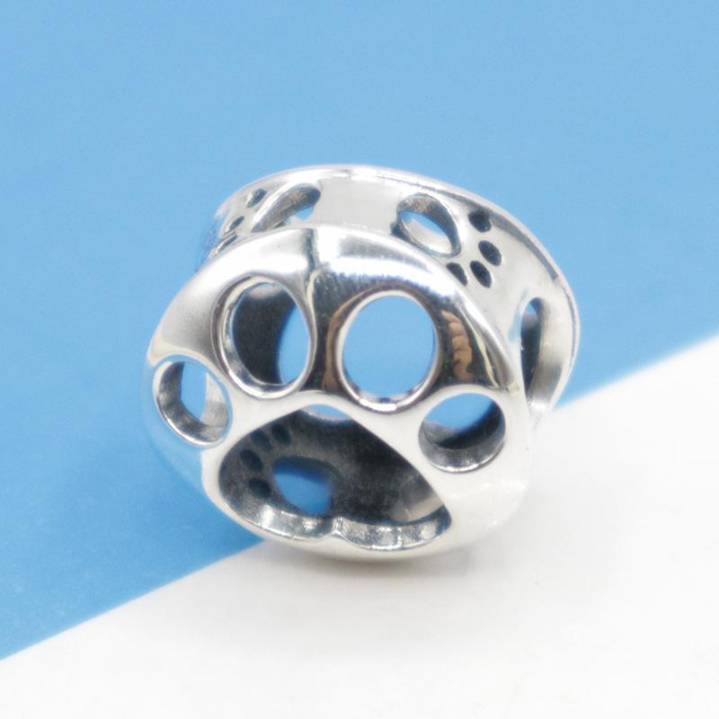 tallone cane elefante tartaruga animale PANDORA charms in argento gioielli fai da te donne 925 braccialetto gingillo originale 925 Sterling
