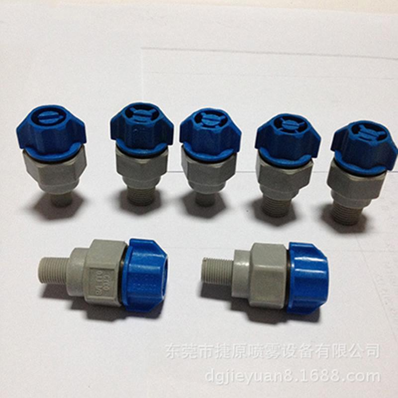 """Инструменты для очистки автомобилей 1/4 """"плоский вентилятор сопла пластиковый быстрый релиз PCB Etcher Nopple1"""