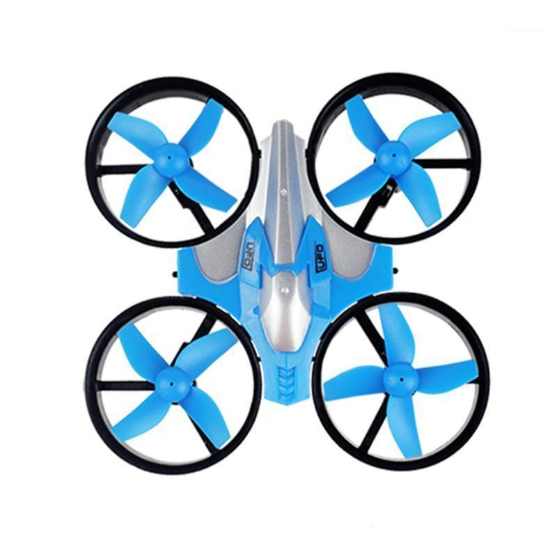 Mini aeronaves de quatro eixos um botão retorno ao modo sem cabeça pequeno controle remoto aeronaves brinquedos1
