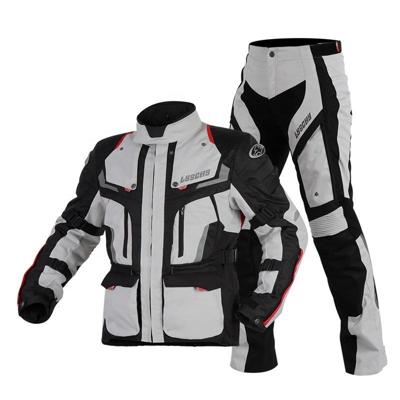 Sıcak satış yüksek kaliteli Erkekler motosiklet takım elbise OEM motosiklet su geçirmez ceket rüzgar geçirmez