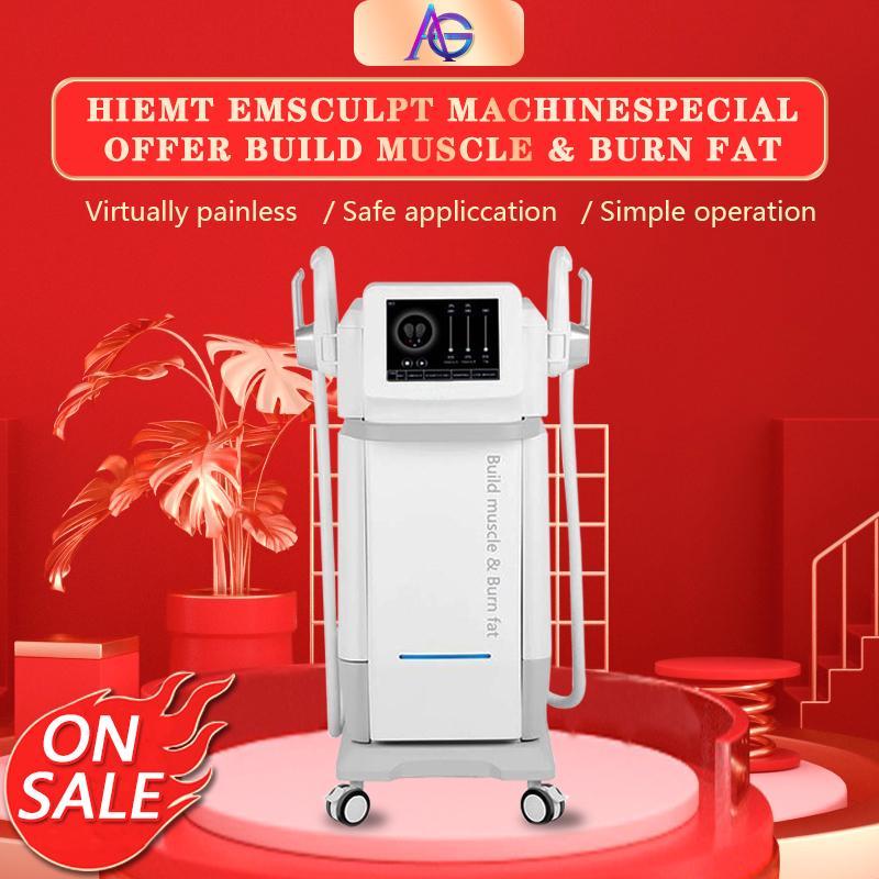 HI-EMT Sculpt Emslim Muscle estimula la máquina para adelgazar en la pérdida de peso electromagnética Hola EMT