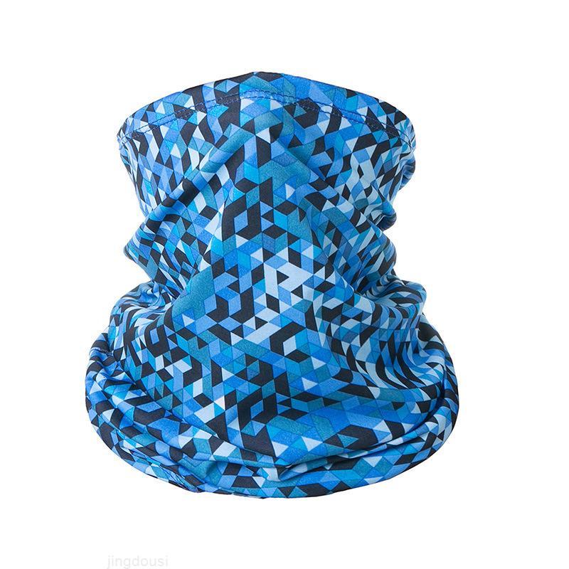 Cyclisme multifonctionnel bandana respirant visage respirant goulot gaiter foulard sans soudure masque tube headwear sport bandeau de la bande coupe-vent visage shmn