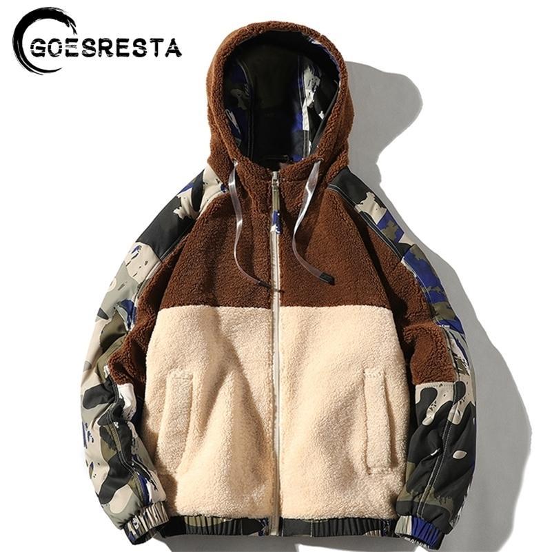 GoesResta Marca New Hombre Chaquetas Streetwear Otoño e Invierno Wild Wild Fashion Casual Ultralight Jacket Jacket Men 201104