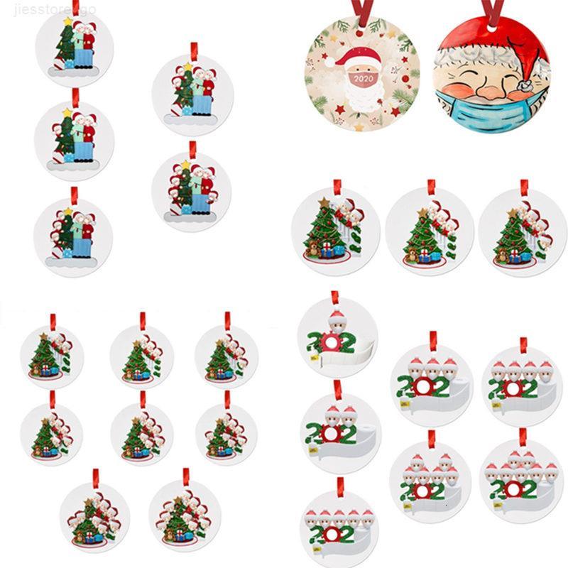 Süsleme Noel ağacı kolye olmayan reçine Asma Kardan adam Dekorasyon Tatil Hediye Elk tuvalet kağıdı 300pcs T1I2596