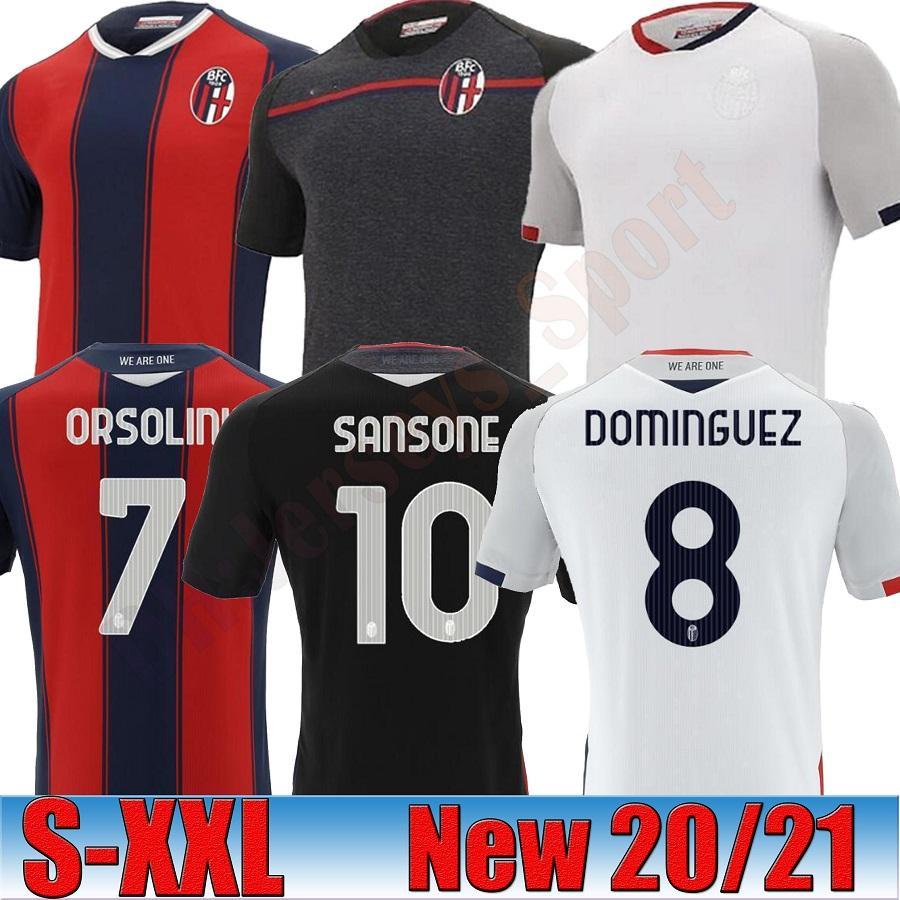 TAILÂNDIA 20 21 BOLOGNA FC Camisa 1909 de futebol INÍCIO Orsolini 20 21 Maglie camisas de futebol da calcio Sansone Dominguez Tomiyasu Soriano Barrow