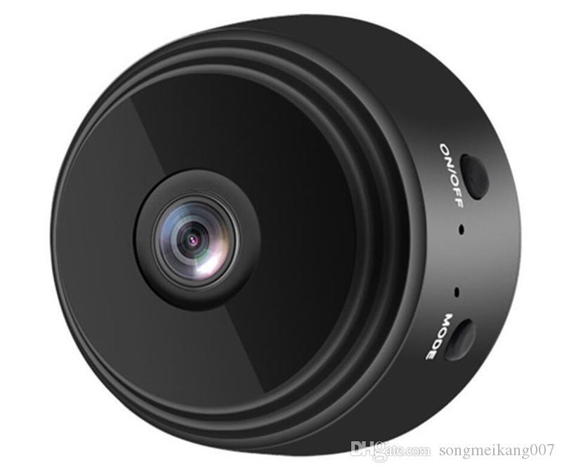 HD 카메라 적외선 공중 DV 스파이 비디오 캠 와이파이 IP 무선 보안 숨겨진 카메라 실내 A9 1080P 감시 야간 시계 캠코더 DHL