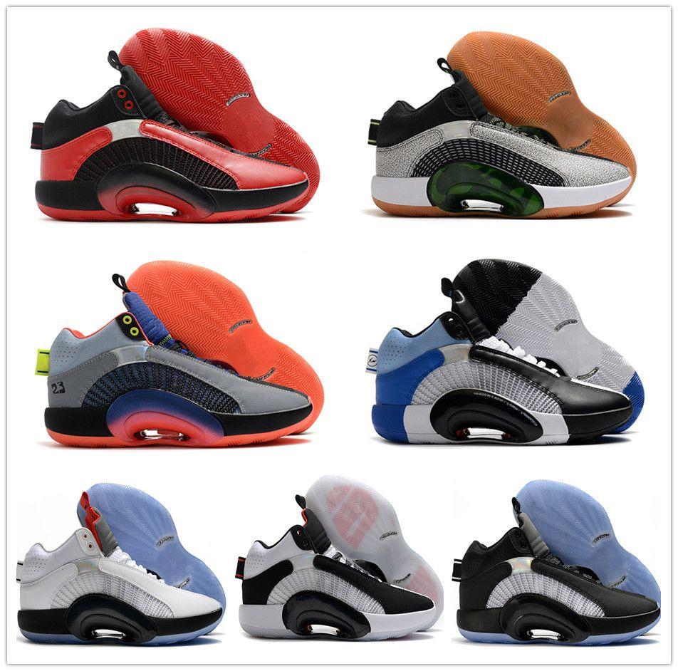 Fragmento x 35 Centro de Gravidade DNA Bayou Meninos Crianças Mulheres Ao Ar Livre Sapatos XXXV 35 Multicolor Basquete Esportes Sneaker com caixa