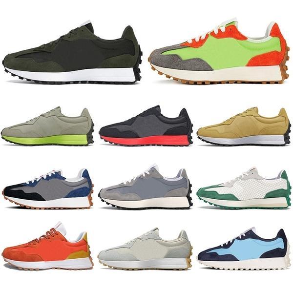 Les nouvelles chaussures de course d'entraînement aux hommes de feu d'arrivée pour femmes hommes Fierté Lime Green Neo Flamme marine blanc gris sport Chaussures de sport en plein air mode 36-44