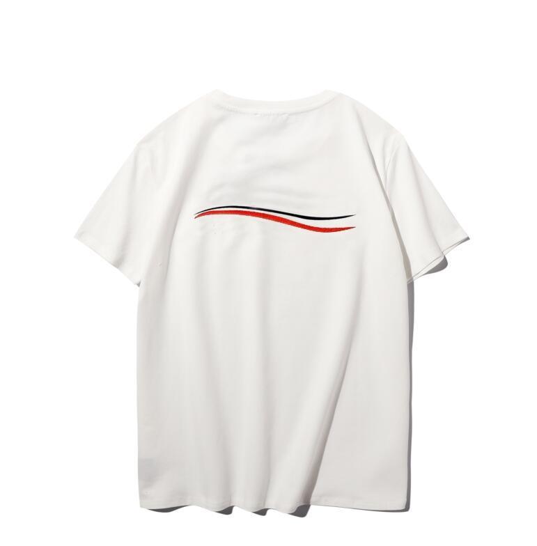 Mode Herren T-Shirts mit Buchstaben heißer Verkauf t-shirts Neue Sommer Herren Womens Paar Casual Tops T Shirts Kurzarm Pullover Größe S-XXL