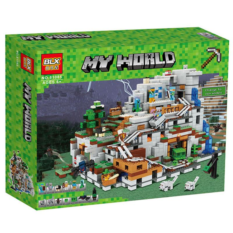New style mini world city building blocks puzzles high quality small particle children toy gift both boy and girl