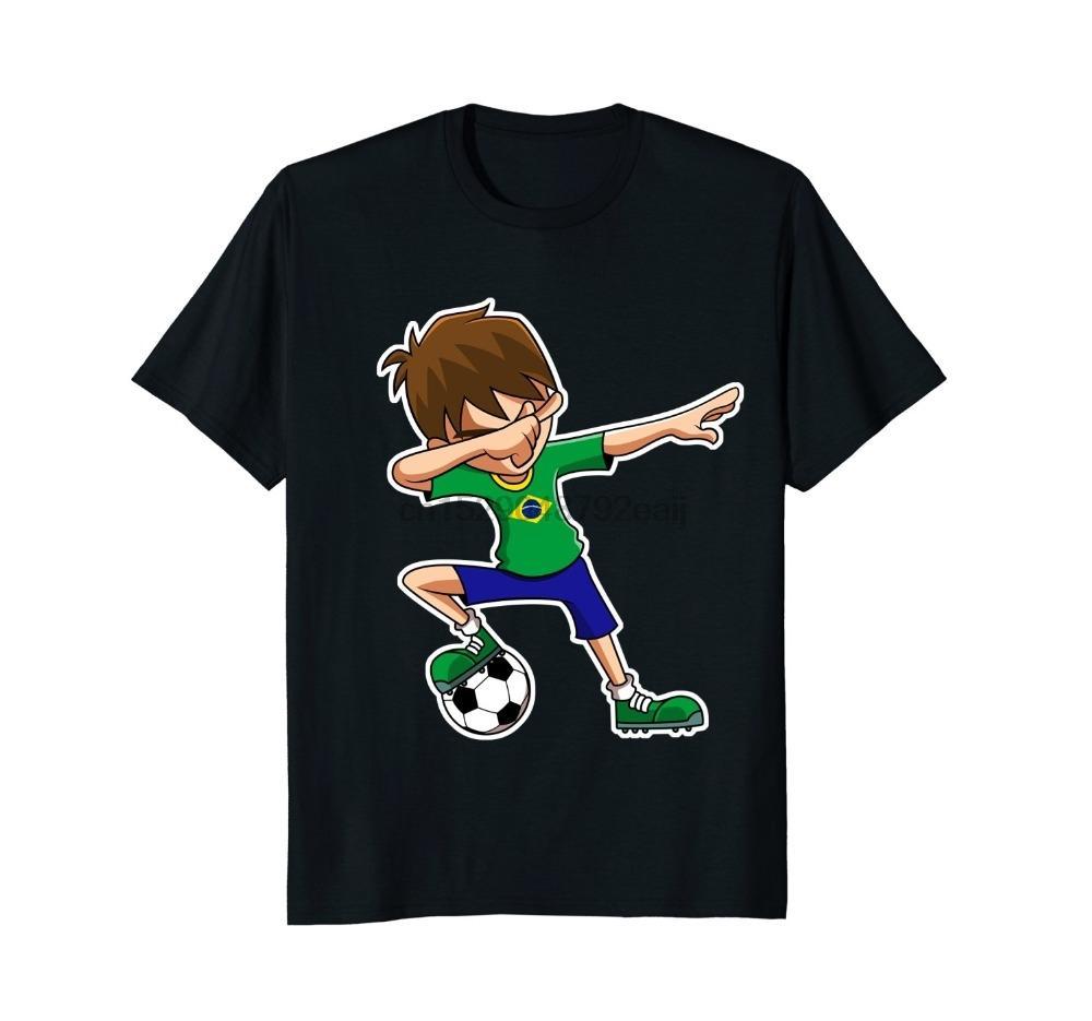 Felpa con cappuccio con cappuccio maglietta uomo nuovo modo popolare di stile Soccerer Per Ragazzi tamponando bandierina del Brasile Jersey Gifts politico Sport