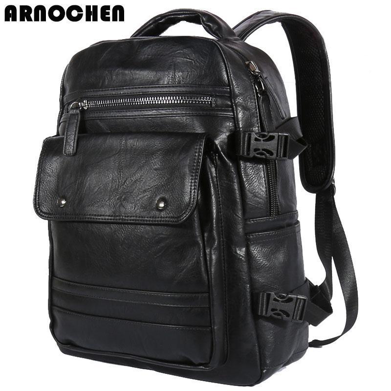 배낭 Arnochen2021 방수 남성 PU 컴퓨터 가방 가방 XD131의 한국어 버전 브레이크