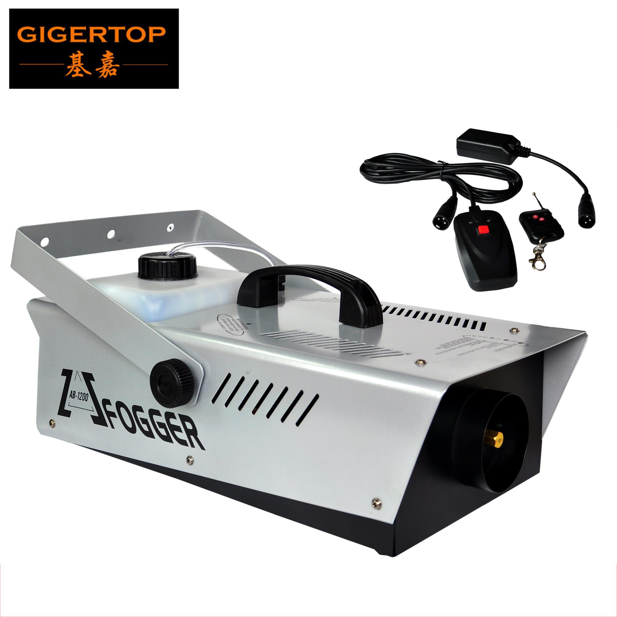 1200W Nebelmaschine Kabelsteuerung / Fernbedienung Bühne Nebelmaschine American DJ Licht 110V / 220V-Stadiums-Effekt-Maschine