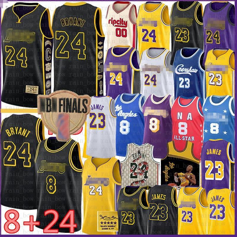23 6 James Basketbol Jersey BRYANT Carmelo 8 24 Anthony, Los Angeles, LeBron