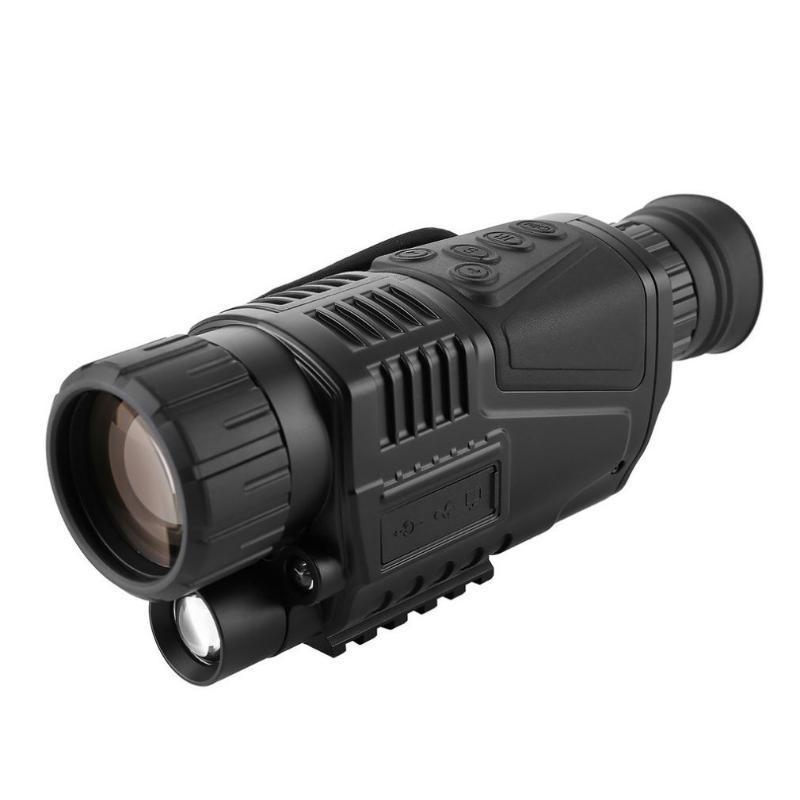 Télescope de vision de nuit infrarouge Dispositif de vision nocturne monoculaire télescope monoculaire 8-24x30 Zoom