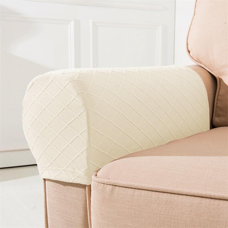 2pcs Set Braccioli Covers Covers Livingroom Sofas Arredamento Ispessibile Manicotto fissabile Sedia antipolvere Sedia a prova di custodia Corrimano Lattice Vendita calda 13 8bn G2