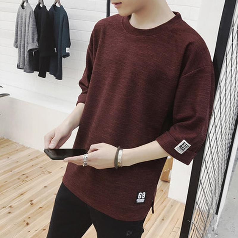 Vêtements pour hommes Casual T-shirt Fashion Hommes Tops Tees Coton Plus Tshirt Grand Thirt 2020 Mâle T-shirts à manches courtes HOP HOP