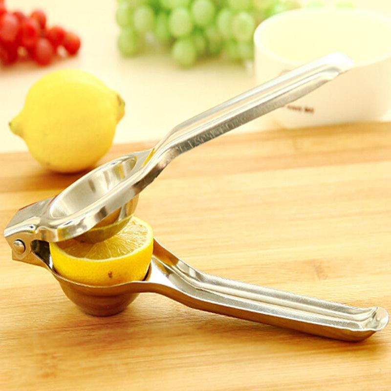 Paslanmaz Çelik Limon Sıkacağı Limonlar Manuel Sıkacağı Araçları Sağlam Limesqueeer Anti-Aşındırıcı Manuallime Taze Suyu Aracı WQ671-WLL