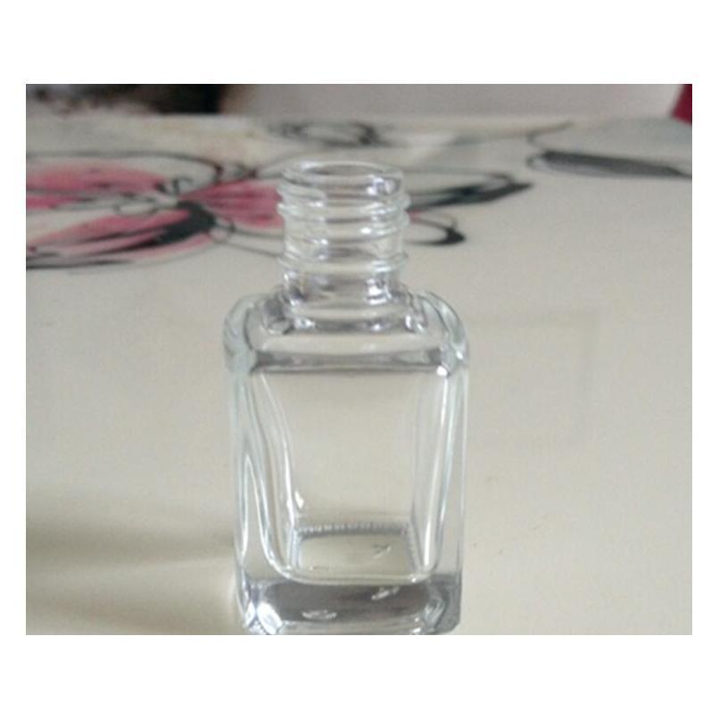 شحن مجاني 5 ملليلتر 10 ملليلتر 15 ملليلتر زجاجة طلاء الأظافر الزجاج الشفاف مع غطاء وفرشاة مصغرة كود فارغة wmtdlz dh_seller2010