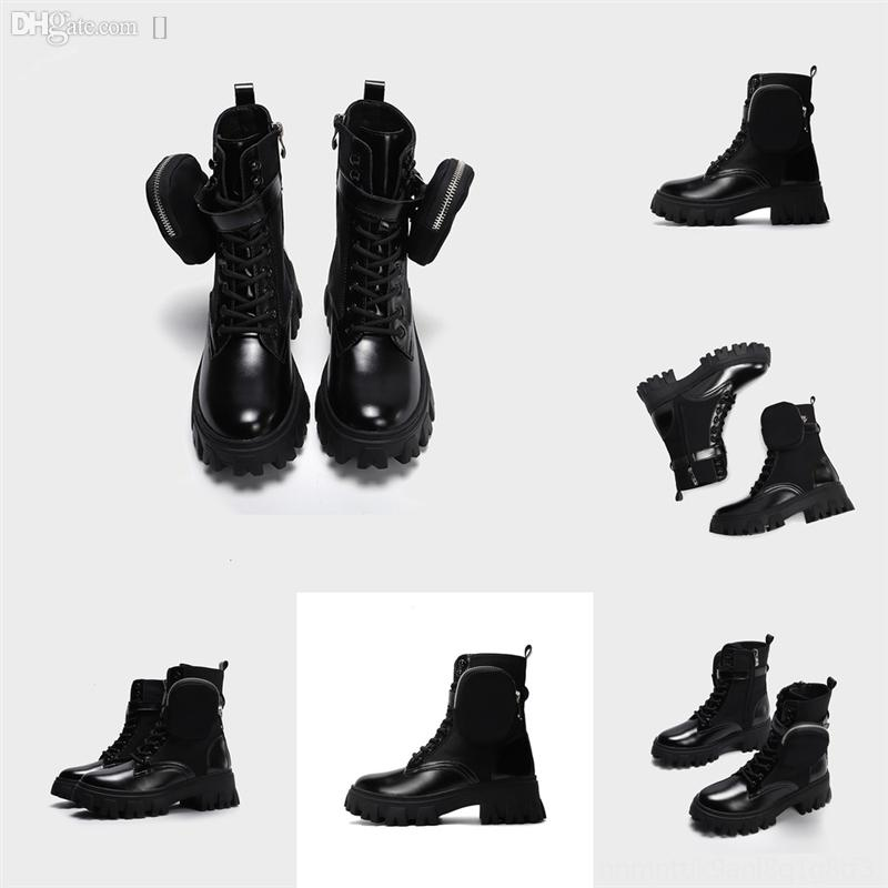 XQXV7 Designers Motorcycle Thursday Boot Black Color Boots WomanWinter Tobillo WalletBoots Diseñadores Mujeres Botines Taletes Calidad