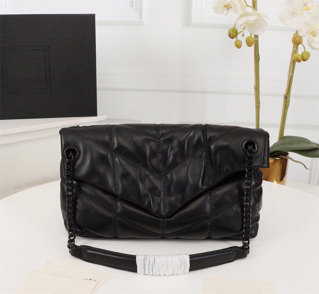 Bolsas de desenhista de luxo Loulou Sacos de Sacos de Corrente Bolsa de Ombro Quilted Lambskin Bolsa de Alta Qualidade Mulheres Sacos
