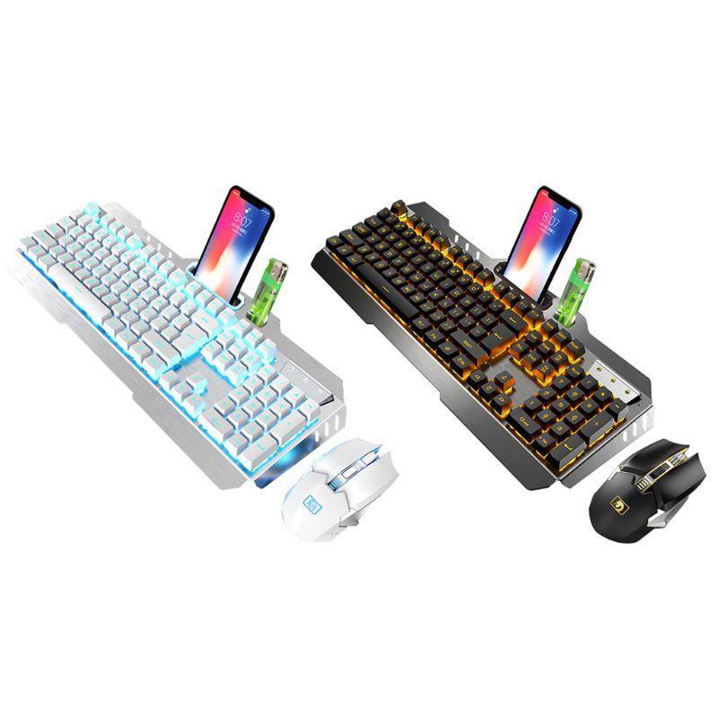 Souris de rétroéclairage rechargeable au clavier de la souris et DPI