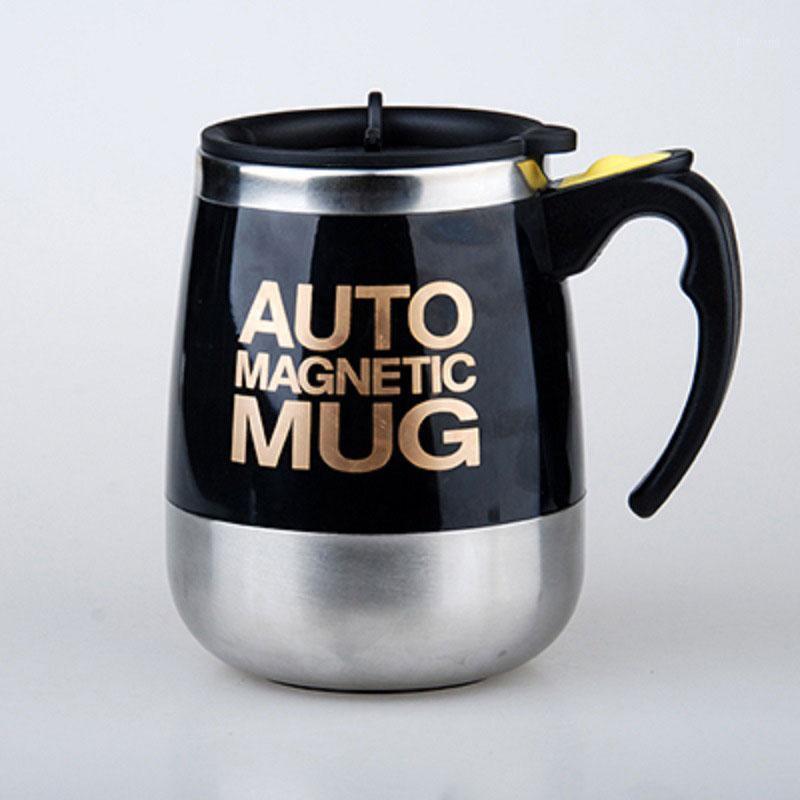 400ml Auto Magnetic Becher Edelstahl Selbstrührendes Kaffeetasse Automatische Mischen Saftmilch Smart Shaker Kaffee Cup1