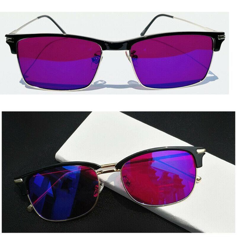 Occhiali occhiali occhiali occhiali da occhiali da celion da colorful rossi donne di pilota colore cieco nuovo uomo colorblind verde correttivo test di patente di phuat