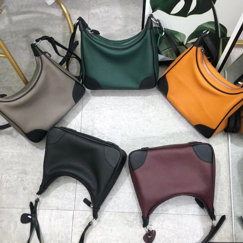Женщины плеча новый подлинный 2021 стиль моды и панель 27см корова кожа одна сумка с поперечинами доставки 5COLOR бесплатная сумка Dnemn