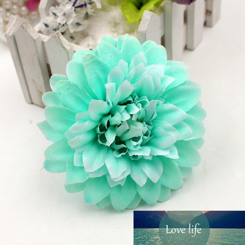 50pcs flor artificial de seda de alta qualidade Dahua buquê de flores casamento carro cabeça
