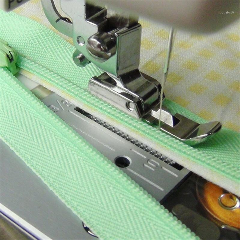 Cremallera Máquina de coser Pie con cremallera Máquina de coser Pie a pie Baja Shank Snap Windy1