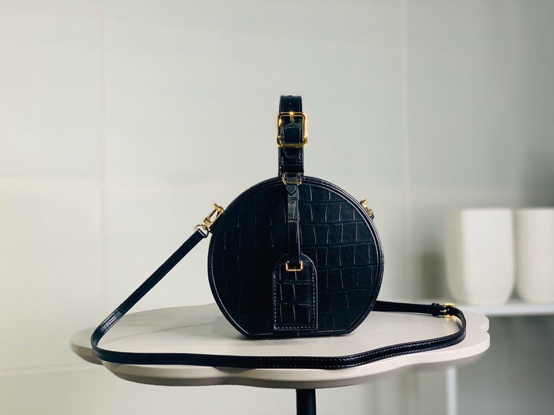 2020 الشحن مجانا عالية الجودة حقيبة جلد طبيعي فاخر مصمم حقائب نسائية حقيبة الكتف CROSSBODY أكياس رسول حقيبة