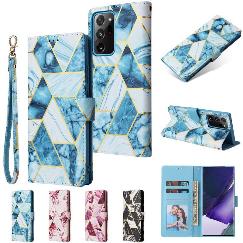 Cassa del telefono di lusso per Samsung Galaxy S30 S21 Plus Copertura flip in pelle per Samsung Note 20 Ultra Nota10 S20 S10 Plus Portafoglio
