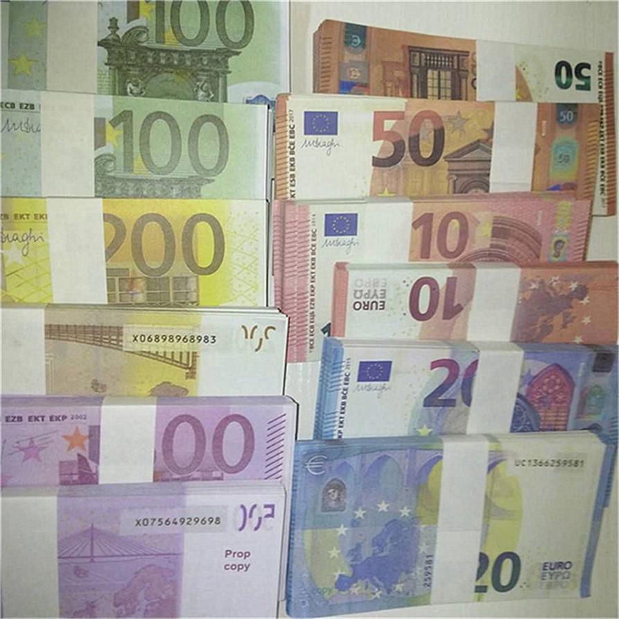 Puntelli moneta moneta moneta dollaro dollaro euro copia soldi scaricata barra a barre atmosfera palcoscenico puntelli Piccolo biglietto del giocattolo quadrato A173