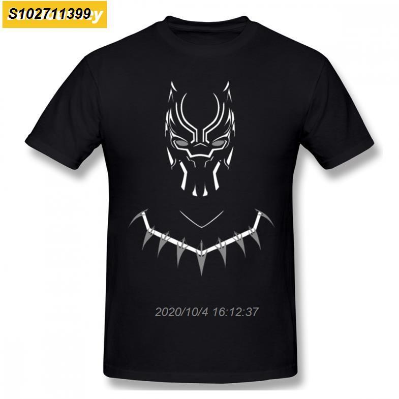 Panther Classic Männer-T-Shirt plus Größen-O-Ansatz Baumwoll Individueller Short Sleeve Herren Kleidung 3420410