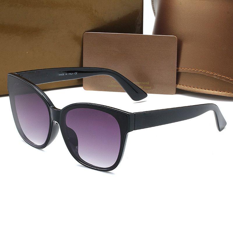새로운 광장 럭셔리 태양 안경 0210 브랜드 디자이너 숙녀 선글라스 여성 큰 프레임 거울 태양 안경 무료 배송