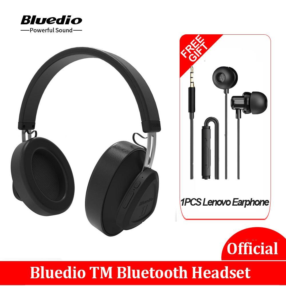 Оригинальный Bluedio Наушники TM Беспроводная Bluetooth наушники с микрофоном монитор студии гарнитура для музыки / телефон голосового управления