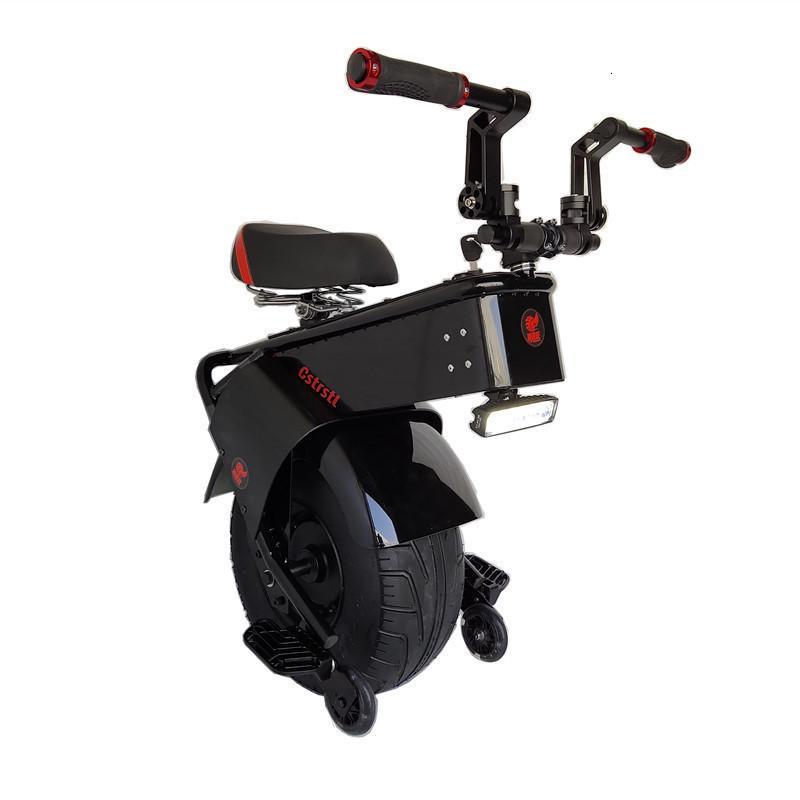 Erwachsene Elektrische Motorrad Roller One Rad Elektrische Roller 18 Zoll Fette Reifen Elektrische Unicycle 1500W Motor Max Geschwindigkeit 25km / h
