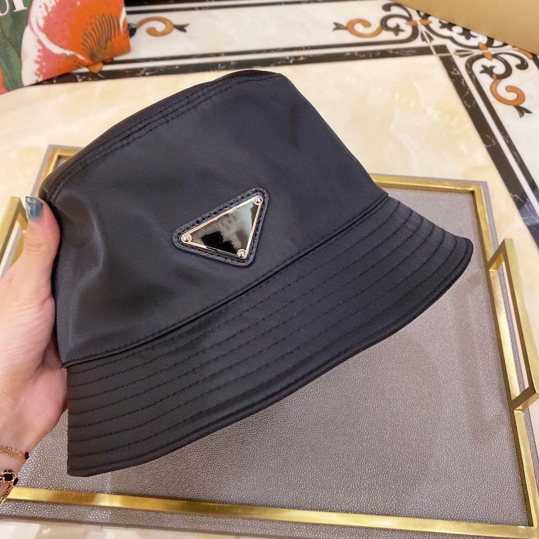 Luxus Großhandel Sommer Sunbucket Hut Schutz Angeln Marke Hohe Qualität Reine Farbe Buchstaben Bob Boonie Eimer Hüte Sommerkappen P27 LKLEW