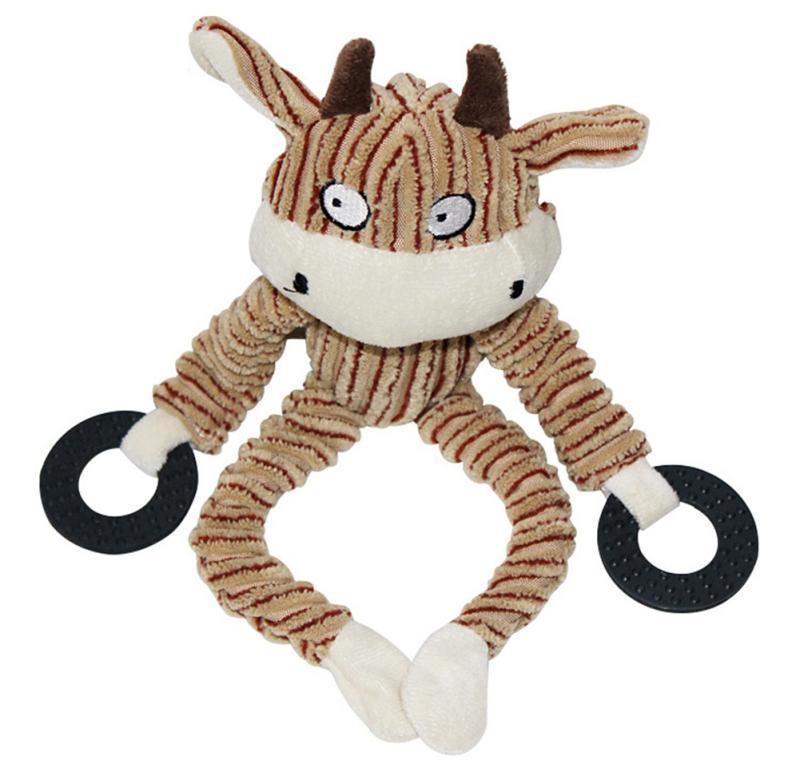 Çiğnemek oyuncaklar köpek yavrusu peluş oyuncaklar pet köpek yavrusu peluş ses koyun maymun co bbyroa lg2010 çiğnemek