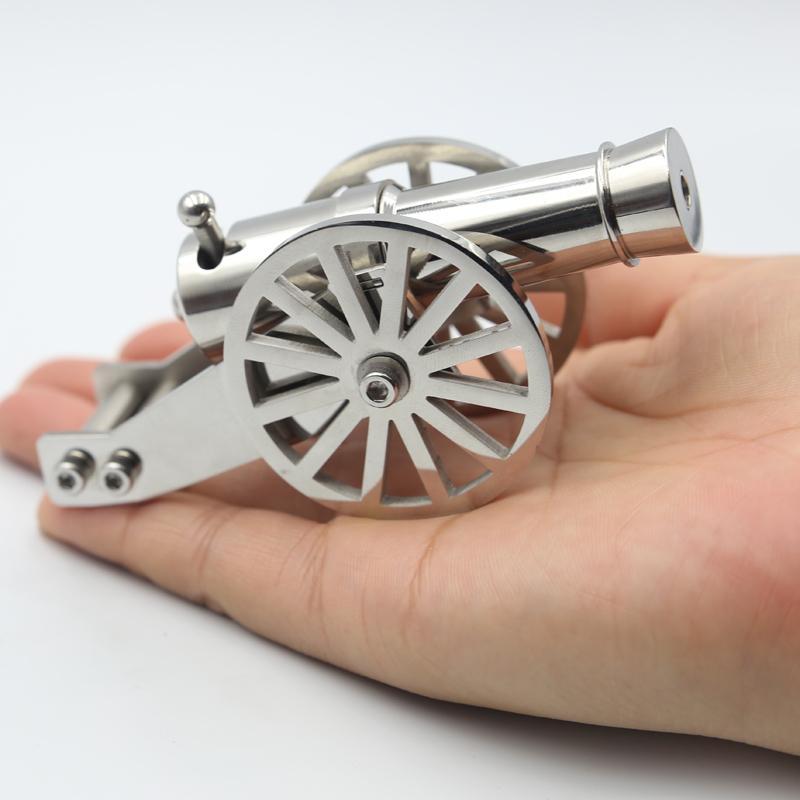 الفولاذ المقاوم للصدأ مصغرة نابليون مدفع معدني طقم موديل طقم طقم طقم طقم جمع القذيفة 2011111