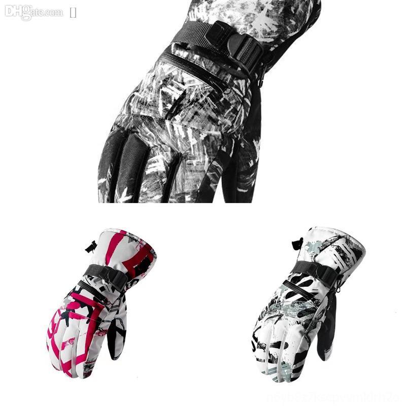 syvbs Desechable Deporte Llegada Esquí es barato Nuevo en el guante de nitrilo Ilustración de encaje de encaje Apliques Abrigos sin dedos A prueba de viento Muñeca Longitud con
