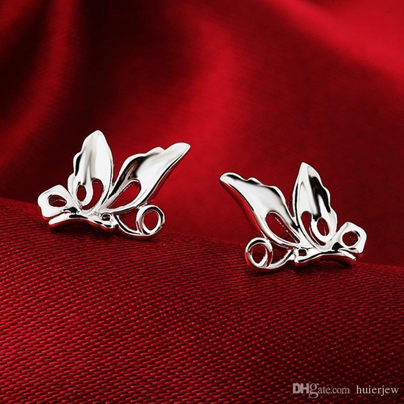 925에 구리 문 패션 쥬얼리 새 귀걸이 스터드 팩 한국어 귀걸이있는 절삭 귀걸이 아름답게 귀