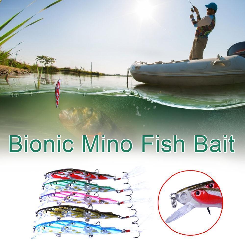 """Nuovo pesca gruppo esca mini pesciolino"""" esca subacquea di alta qualità"""
