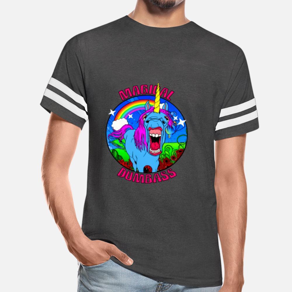 Maglietta Dumbass Magic T shirt divertente Popolare Felpa con cappuccio Bianco Bellezza
