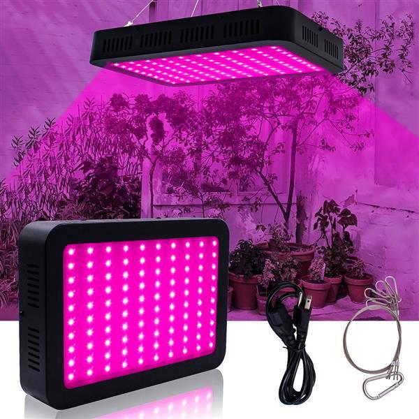 Новый дизайн 1800W 180 * 10W Full Spectrum 3030 лампа для лампы, листовая лампа, одиночный контроль Черный Внутренний Премиум Материал Премиум