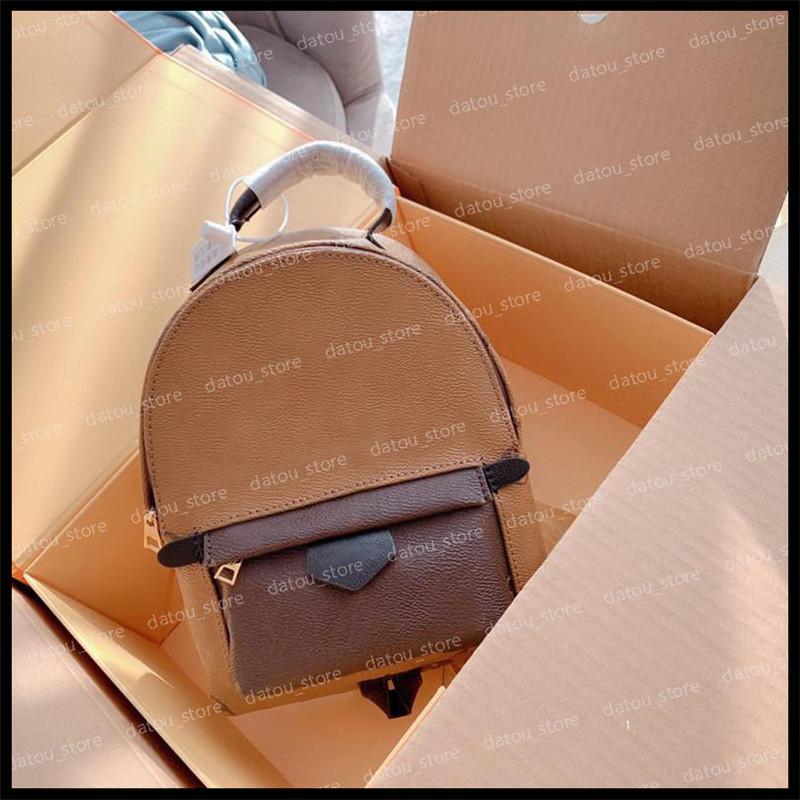Sac Femme Sacs 2021 Sacs Sacs Bagages à l'épaule Mini Sac à dos Sacs à dos Sacs à dos Luxurys Designers Pursettes Sacs à dos Sac de voyage Fashion D20122901K VJRE